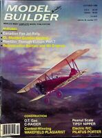 Model Builder Magazine October 1986 Canadian Fan Jet Rally Bantam M5    m982