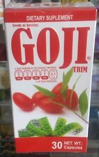 Goji Trim Natural Weight Loss 30 Capsules**Semillas De Baya De Goji 30 Capsulas