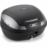 Givi E470 NT 2 Helmet Motorcycle Top Box 47L includes Universal Mounting Plate