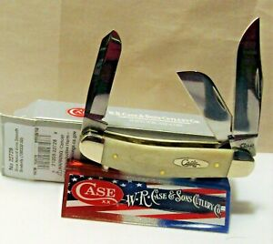 Case XX TONY BOSE Sowbelly item #22728 smooth natural pattern #TB6339 SS