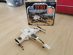 Vintage Star Wars Palitoy X-Wing Fighter BOXED near complete Return the Jedi UK