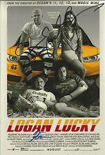 Steven Soderbergh/Brian Gleeson Signed Logan Lucky 12x8 Photo AFTAL