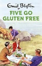 ENID BLYTON FIVE GO GLUTEN FREE By Bruno Vincent (HARDCOVER)*NEW* SHIPS FROM SYD