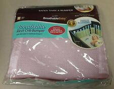 New listing Breathable Baby Crib Liner