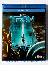 TRON LEGACY Awesome Sci-fi Movie 2 Disc Blu-ray DVD Pack English French Spanish