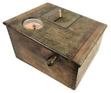 Antique Gledhill-brook Time Recorder Clock Lot 1156