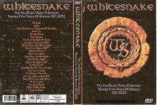 whitesnake video collection dvd 1977-2002 dio van halen scorpions ozzy