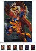 2016 Marvel Masterpieces BATTLE Spectra #BS1-BS17 Card Singles PICK / Choose
