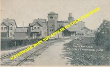 Raritan River Railroad South River NJ station 8½x11 PC repro