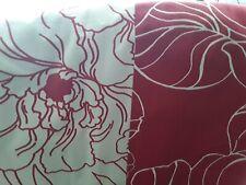 Duvet Cover, Hybiscus Print, Reversible, Hand Made, Ideal Campervan, Caravan Etc