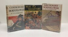 C. S. Forester-3 Books!!-First/1st/Early Printings-1940's & 50's-Hornblower-RARE
