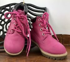 Glitz And Glam Pink Girls Junior Size 7 Premium Water Resistant Boots