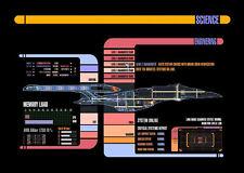 Impression encadré-Star Trek science & ENGINEERING panneau de contrôle (Photo Poster art