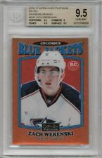 16/17 O-Pee-Chee Platinum Zach Werenski Orange Rainbow Retro #'ed 46/49 BGS 9.5