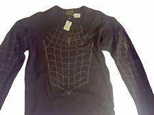 NWT LOVEBOMB CO UK Spider Web Sweat Shirt Detachable Sleeves Size XL Unisex