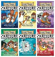 NEW Dead Sea Squirrels Set of 6 Book Mike Nawrocki 1 2 3 4 5 6 Squirreled Away