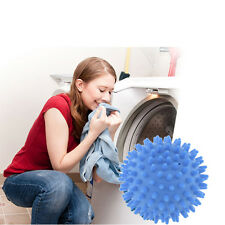 Hot 2 x Blue Dryer Ball No Chemicals Wash Washing Laundry Soften Cloth New