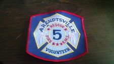 NEW ARENDTSVILLE FIRE DEPT PATCH