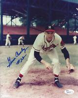 1957 BRAVES Gene Conley signed 8x10 photo #22 JSA COA AUTO Autographed Milwaukee
