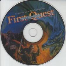 AD&D: First Quest TSR AUDIO CD Introduction Role-Playing Games monsters magic +