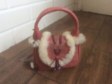 RADLEY mini cherry bag in leather new with slight fadng
