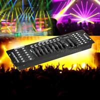 LIXADA 192CH Channel DMX512 Stage Light Controller Console DJ Operator EU O9M6