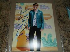 "CALUM WORTHY AUSTIN AND ALLY AUTOGRAPHED 8 X 10 MATTE PHOTO ""INSCRIBED"" (I)"