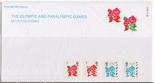 LA GRANDE-BRETAGNE 2012 OLYMPIQUE PARALYMPIQUES JEUX PACK PRÉSENTATION