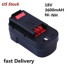 HPB18 for Black and Decker 18v Battery 3600mAh HPB18-OPE FSB18 FEB180S A18 A1718