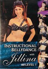 Instructional BELLY DANCE (Jillina) Dancing Exercise Fitness DVD Bellydance