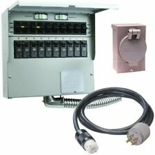 Reliance Controls Pro/Tran 2 - 50-Amp Power Transfer Switch System (10' w/ St.