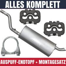 Auspuff-Endtopf für Opel Corsa D (07/06-12/14) 1.2i 16V