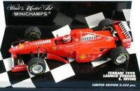 MINICHAMPS various Eddie Irvine F1 FERRARI model cars 1996 1997 1998 1:43 scale