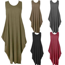 Viscose Boho Sleeveless Dresses for Women
