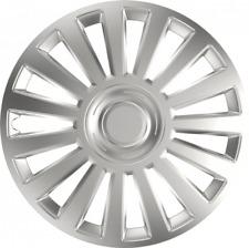 "Vauxhall Vectra (03-08) 16"" 16 in (approx. 40.64 cm) Coche Furgoneta Rueda Adornos Plata Tapas De Lujo"