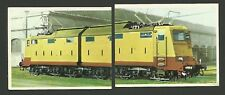 Electric Train Two Vintage Transportation Cards Spain #112-113