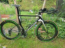 Triathlonrad Cannondale Slice Sram Red + Mavic Cosmic 80 - Größe 57