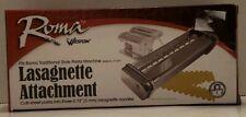 Roma by Weston 3mm Lasagnette Attachment. New in Box.