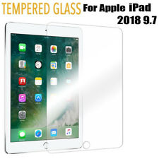 "Tempered Glass Film Screen Protector For NEW Apple iPad 6th Generation 9.7"" 2018"