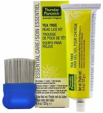 Thursday Plantation Tea Tree Head Lice Kit - Tea Tree 125g