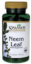 Neem Leaf 500 mg x 100 Capsules Premium - Fast Shipping