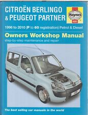 CITROEN BERLINGO & PEUGEOT PARTNER 1.4 1.6 1.8 1.9 2.0 1996 - 2010 REPAIR MANUAL