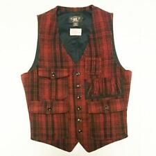 RRL 45 LIMITED TWEED HUNTING VEST RALPH LAUREN MEN CASUAL FASHION SMALL F/S RARE