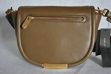 NWT! Marc By Marc Jacobs Luna Leather Crossbody Bag in Teak. Olive Green Color.