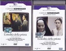 4 Dvd x 2 Box Sceneggiati Rai L'EREDITA' DELLA PRIORA con A.Valli completa 1980