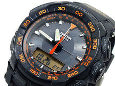 Casio Pro-Trek Solar Watch PRG-550-1A4 Compass Altitude Temperature RRP $659.00
