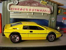 2016 Hot Wheels LOTUS ESPRIT S1 ✰Yellow; asw 5sp✰Loose✰HW Exotics