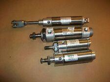 4 Pneumatic Cylinders SMC & Numatics  1500D01-02A-10  CDM2B40-502  NCDME125-0150