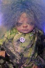 Reborn Ooak Fantasy Zodiac Aquarius Baby Elises Wicked Womb January Alternative
