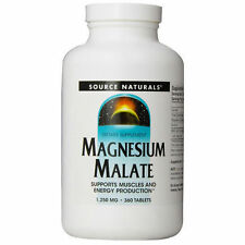 Source Naturals Magnesium Malate 1250mg 360 Tablets